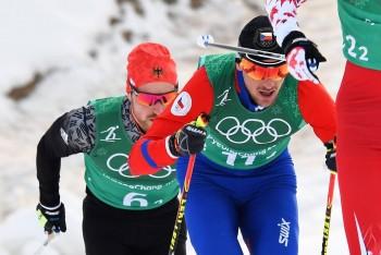 Martin Jakš s Alešem Razýmem v olympijském sprintu dvojic dojeli na ZOH na sedmém místě